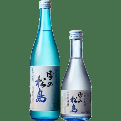 雪の松島 特別純米酒 生貯蔵酒
