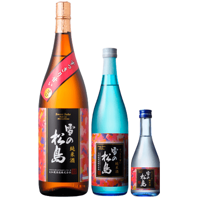 雪の松島 すっきり甘い 純米酒